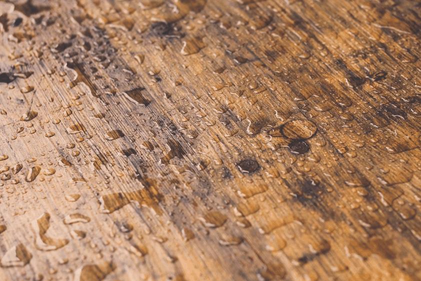 floor with water